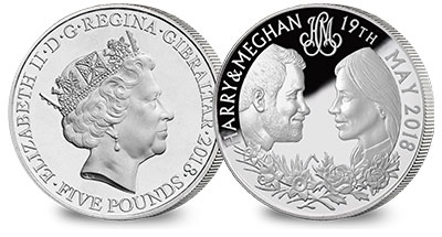 Royal Wedding Silver Coin