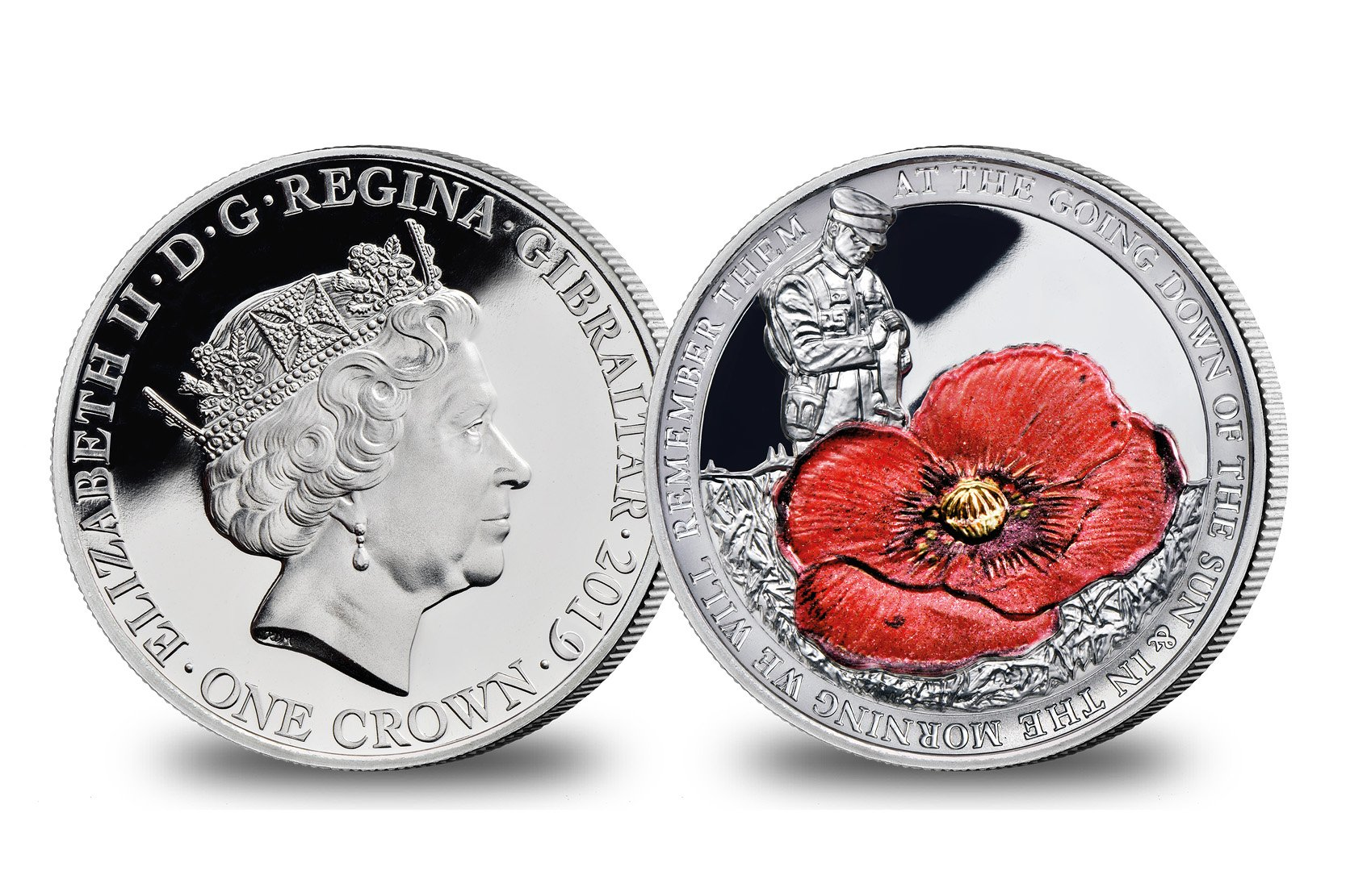 Remembrance Crown Coin