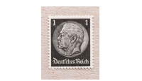1RM Stamp Adolph Hitler Third Reich Stamp Set