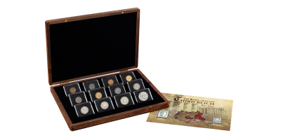 The Third Reich Coin and Stamp Set