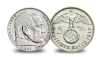 The Third Reich Coin and Stamps Set - reichmarks