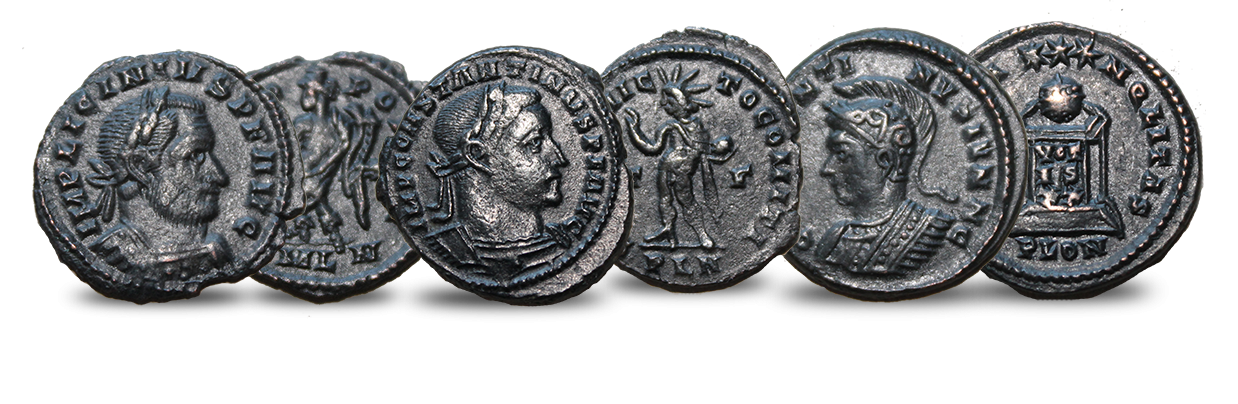 Three Coins Of Roman London