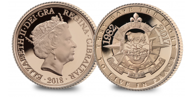 The Falklands Conflict Gold Double Sovereign