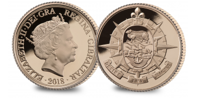 The Falklands Conflict Gold Half Sovereign