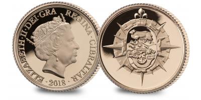 The Falklands Conflict Gold Quarter Sovereign