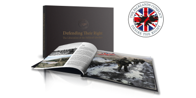 The London Mint Office - Falklands 35th Anniversary Book
