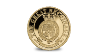 Great Recoinage Fractional Gold Guinea Coin