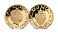 The Great Recoinage Guinea Gold coin