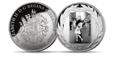 World at Peace 'The Kiss' 1 oz Silver Coin