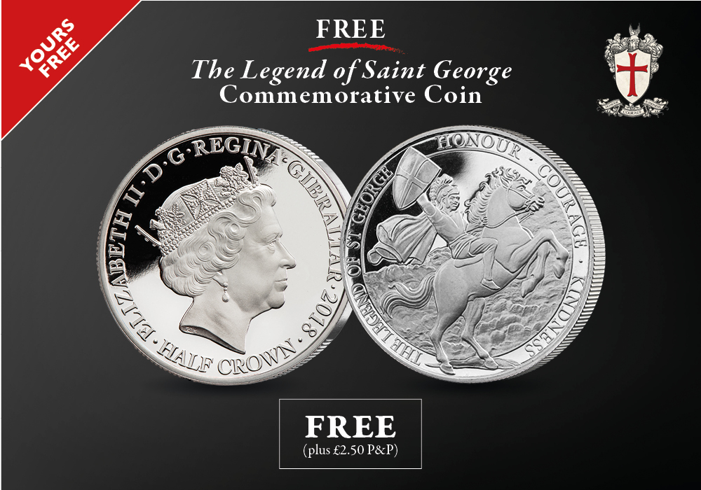 The Legend of St George FREE | The London Mint Office