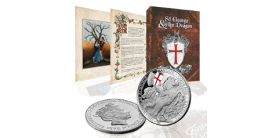 The Legend of St George Printed Coin
