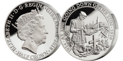 The First World War 'At the Going Down of the Sun' Commemorative Coin