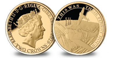 The Official Royal Air Force Battle of Britain Victory Gold Coin