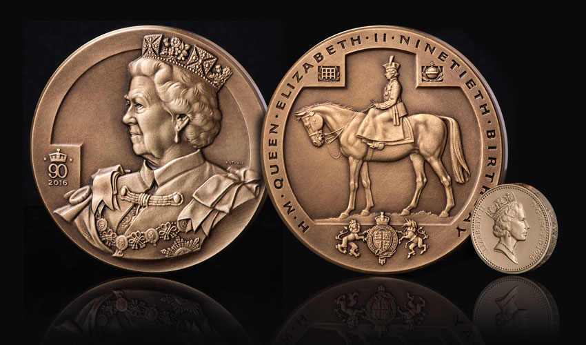 The Queen Elizabeth II 90th Birthday Charity Medal