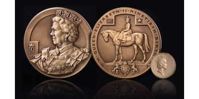 The Queen Elizabeth II Bronze Charity Medal