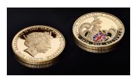 Britannia One Crown On Black