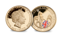 Britannia One Crown Reverse With Edge