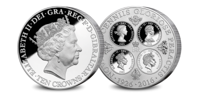 Our Finest Ever Queen Elizabeth II 'Ten Crowns' Giant Coin