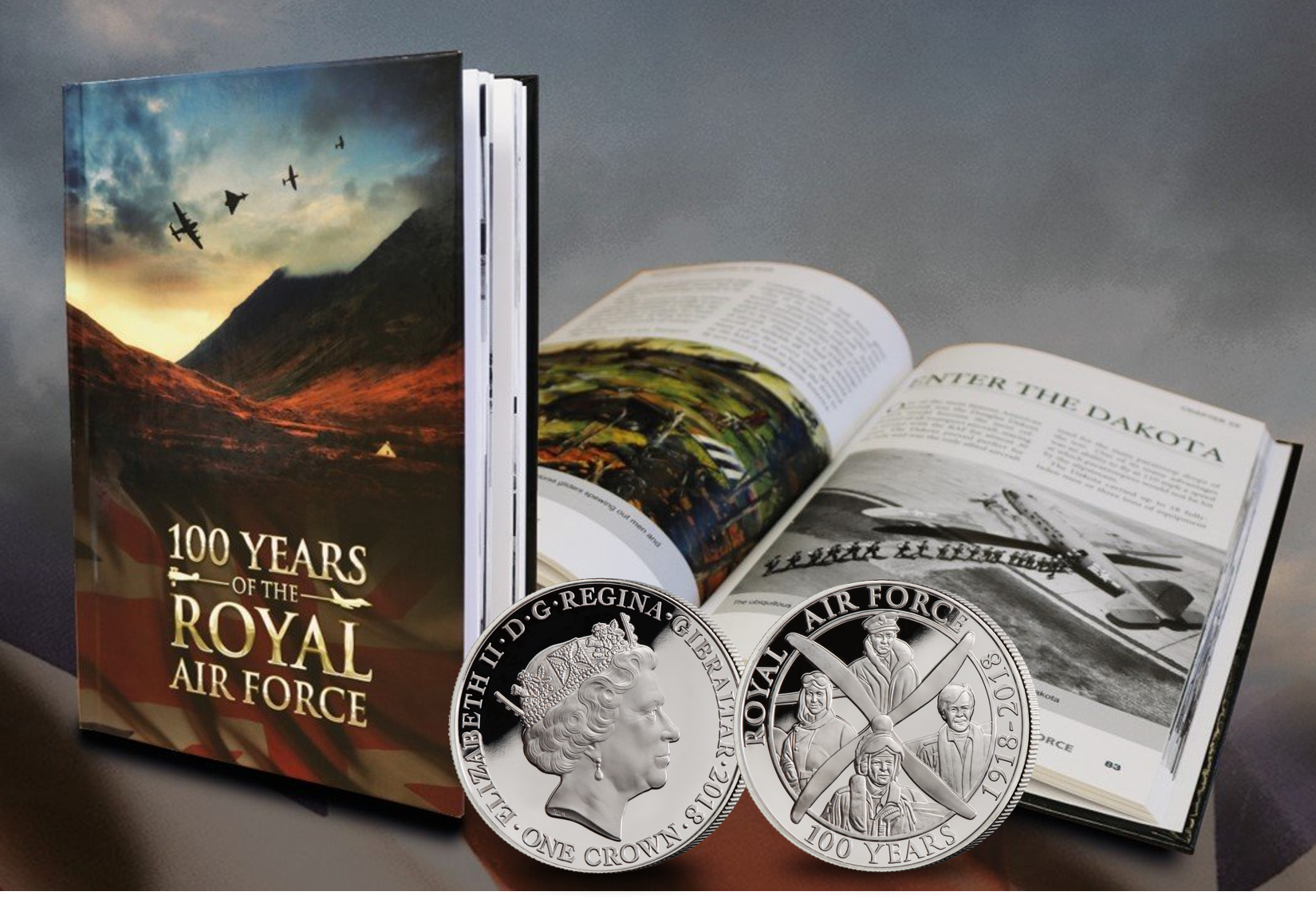 RAF_Coin_and_Book