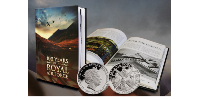 The RAF Coin and Book Centenary Set