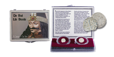 The Real Life Dracula: A Collection of  2 Silver Coins