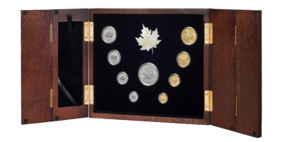 The Royal Canadian Maple Leaf Anniversary Set - Pearl Edition