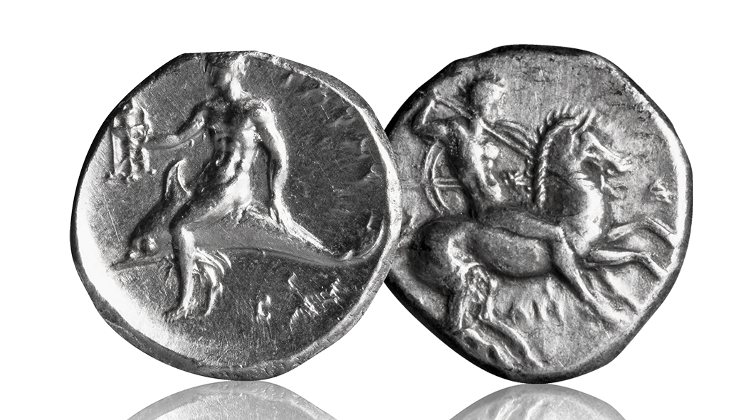 The Silver Didrachm of Tarentum