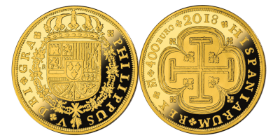 The Spanish Escudos: 150th Anniversary 8 Escudos