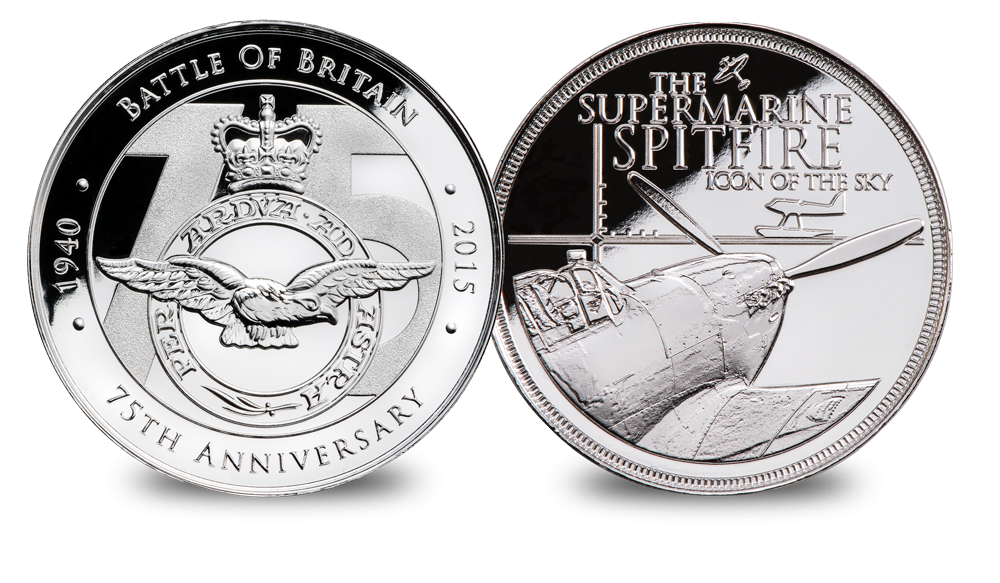 The Spitfire 80th Anniversary Medal