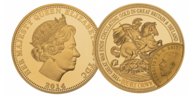 The WWI Centenary Gold Double Crown Coin