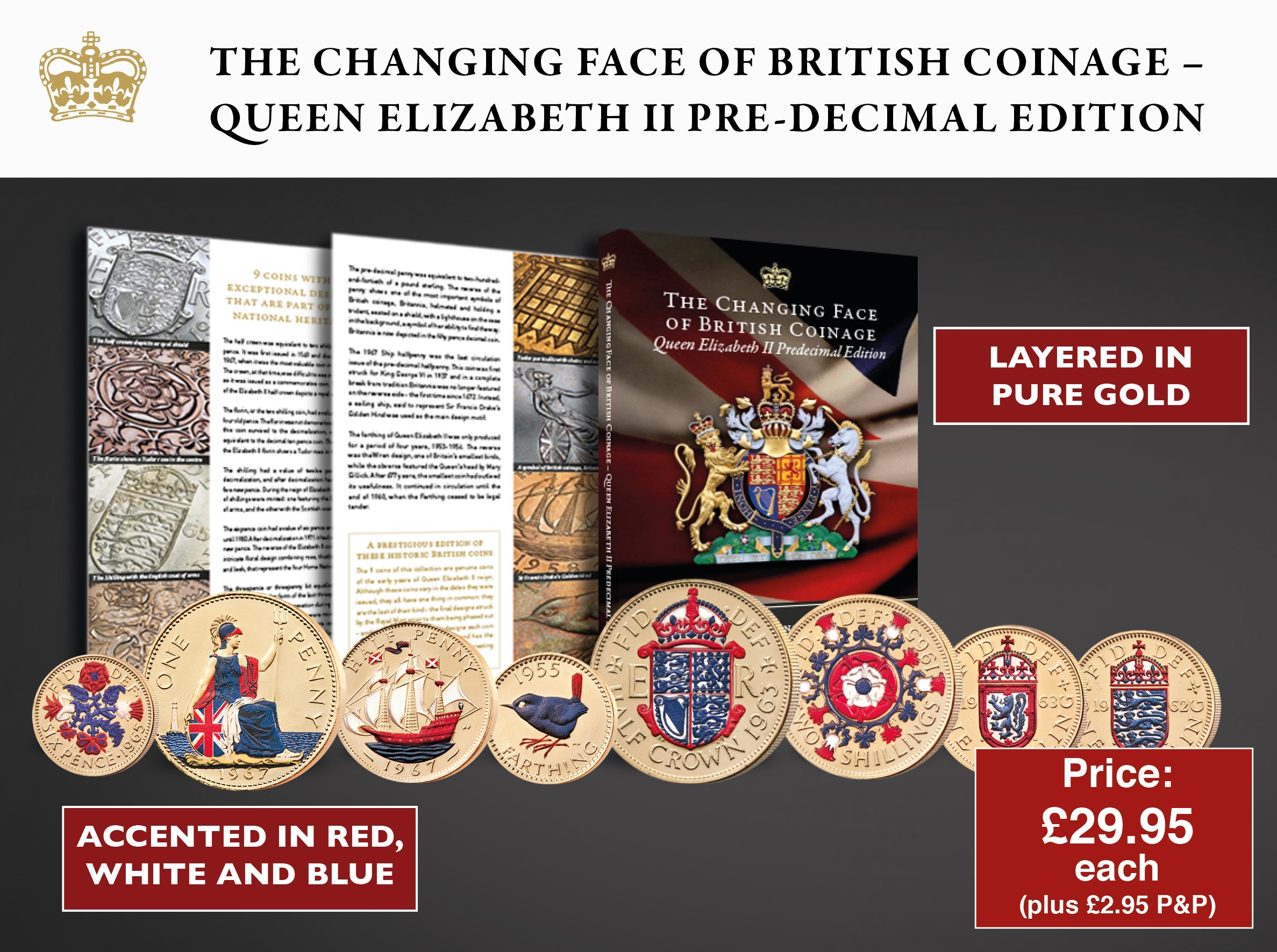 The Changing Faces of British Coinage Set