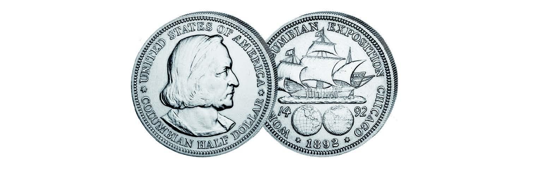 Columbus half dollar