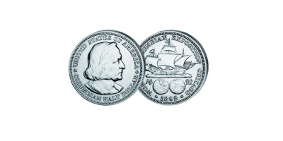 USA 1/2$ Columbian Exposition 1892/93