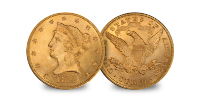 USA $10 Eagle Set Gaudens & Liberty