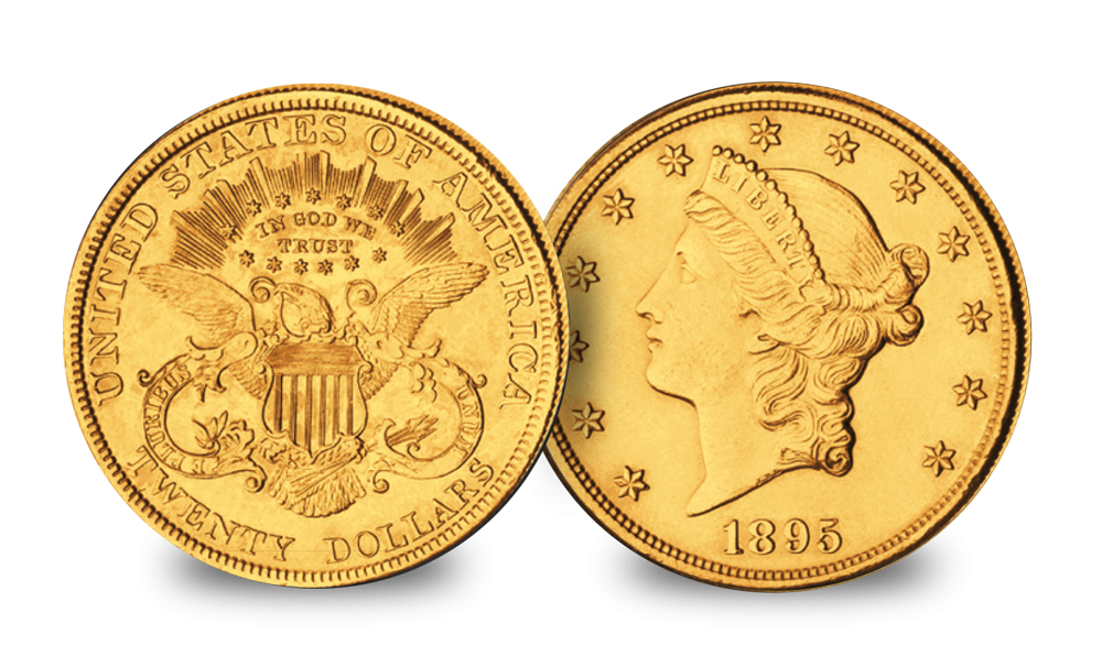 1849 to 1907 Liberty Head Double Eagle