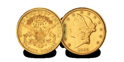 USA $20 Liberty Head (1849-1907)
