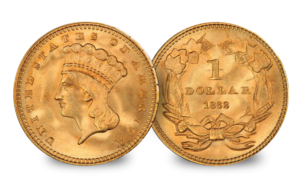The American Civil War Gold Coin Set American History
