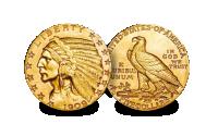 USA Gold $5 set Indian Head Coin