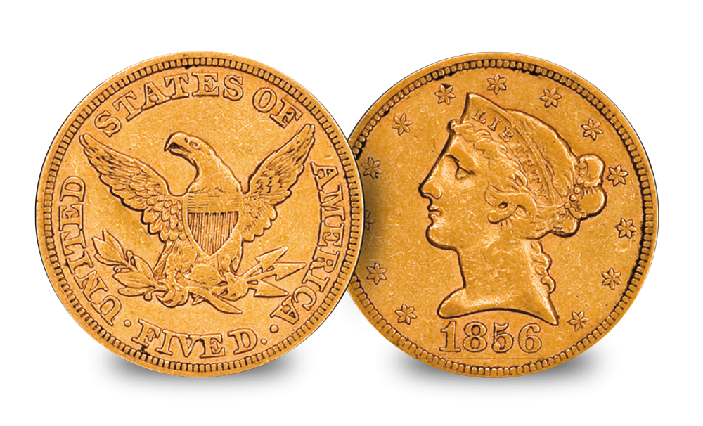 USA Gold $5 set Liberty Head Coin