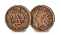 The Wild West Set One Cent Indian Head
