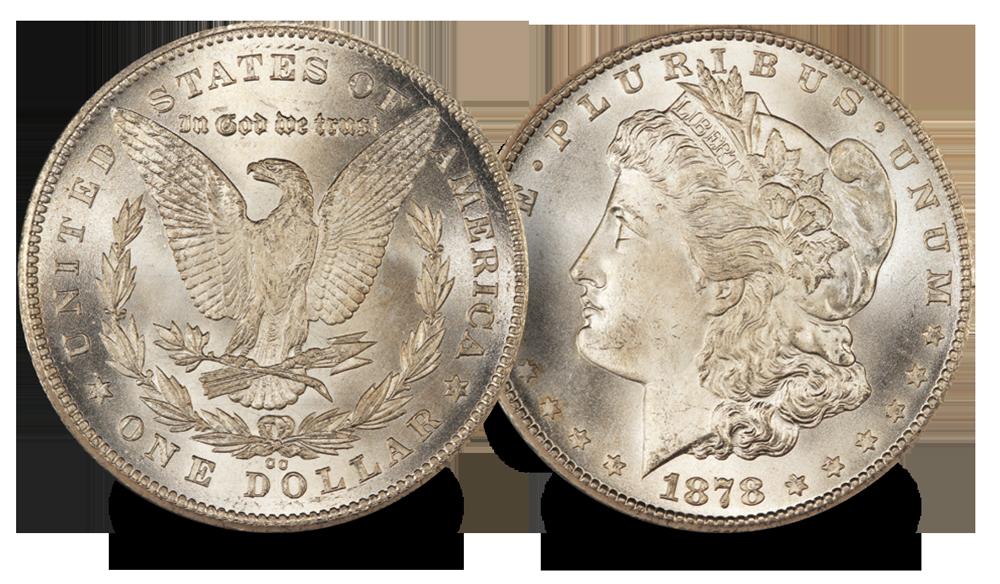 The Wild West Set Liberty Morgan Dollar 1879