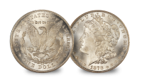 The Wild West Set Liberty Morgan Dollar 1879