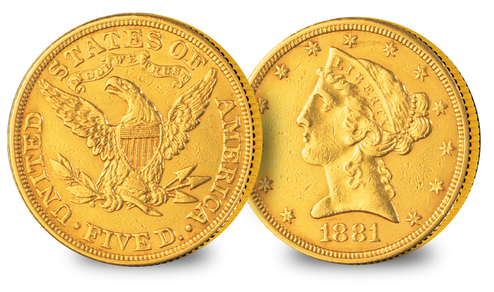 The Wild West Set Liberty Head Type two