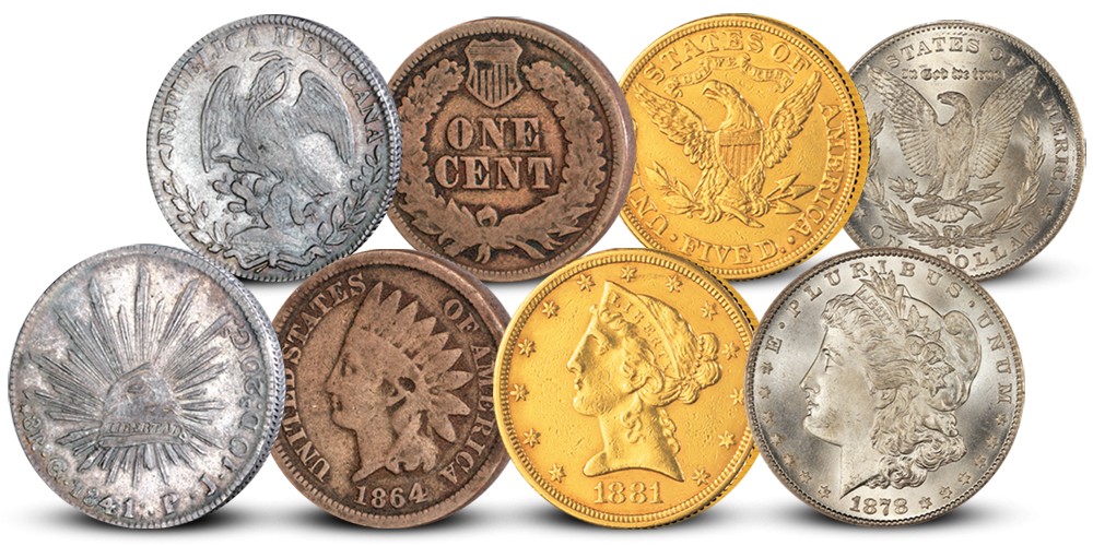 The Wild West Complete Coin Set
