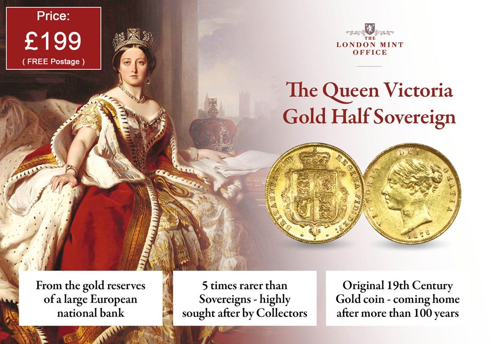 Victoria Half Sovereign | The London Mint Office