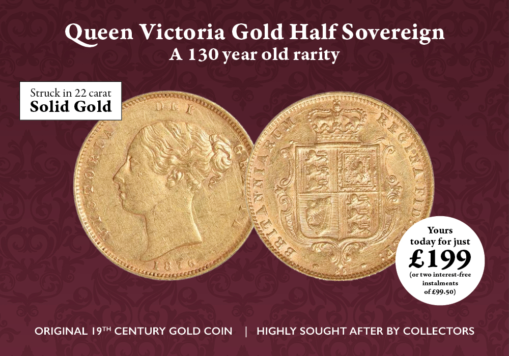 Victoria Half Sovereign | The London Mint Office