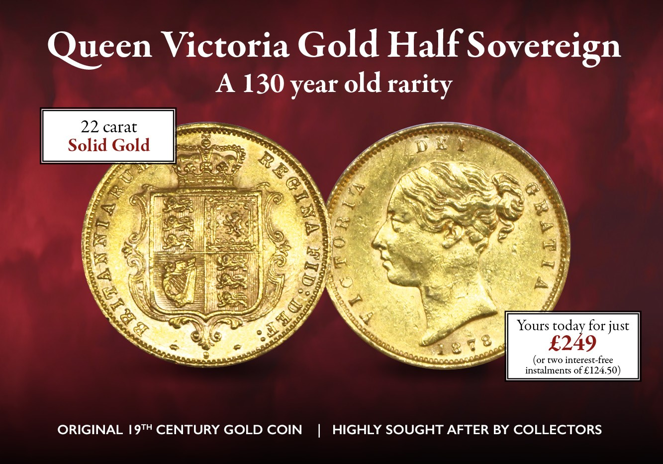 Victoria Half Sovereign 1 | The London Mint Office