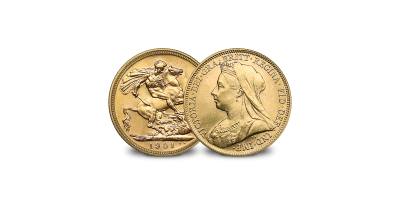 Queen Victoria Gold Sovereign - The rare last portrait type