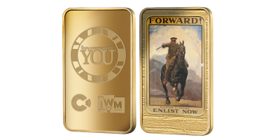 The Official Imperial War Museums 'Forward!' Ingot