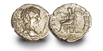 War and Peace in Ancient Rome Three Coin Set